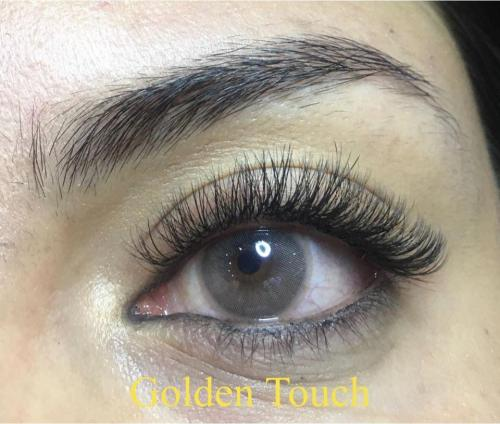 Beautiful eyelash extensions in patong
