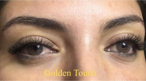 Beautiful look with eyelash extensions