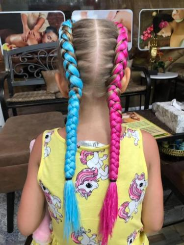 Cute hair braids for girls