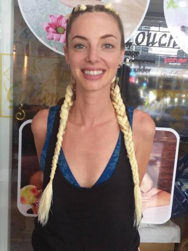 Blond Hair Braiding at Golden Touch Beauty Salon 2