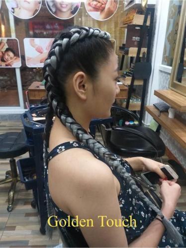 Cool style hair braids in patong