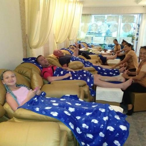 Family massage in Patong at Golden Touch Massage 2