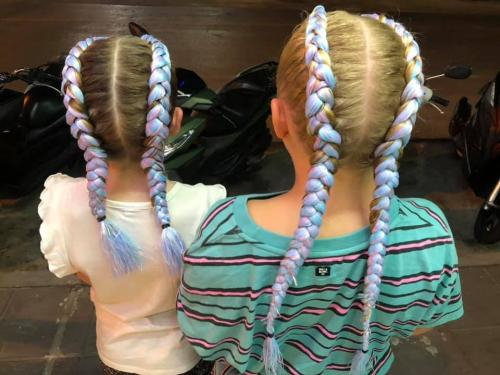 HAIR BRAIDING FOR KIDS IN PATONG AT GOLDEN TOUCH MASSAGE 2