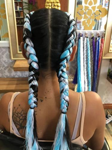 Hair Braiding with style in Phuket