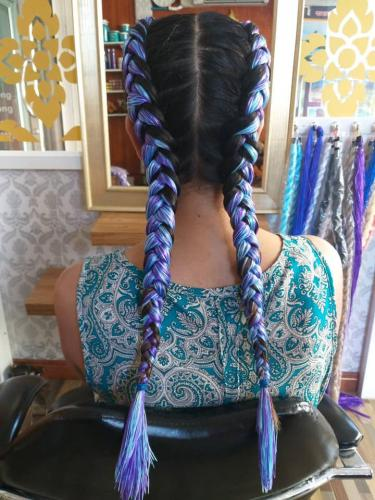 Hair braiding with style at golden touch massage 2 in Patong