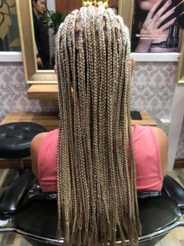 Long hair braids in Patong