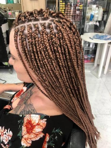 Long hair braids in patong at golden touch 2