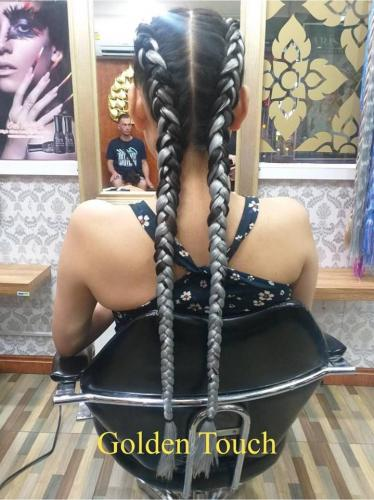 Lovely hair braids in patong at golden touch 2