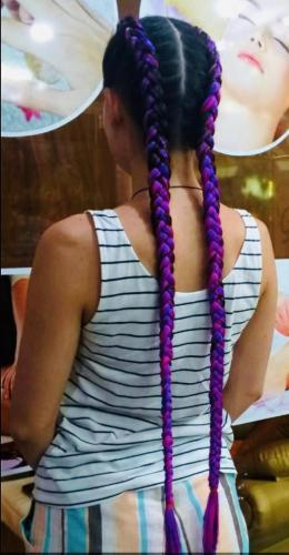 New hair braids in patong