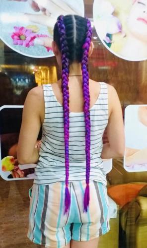Very nice hair braid in phuket